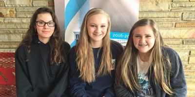 LCMS grade level winners of the 2016 Conservation Writing Contest