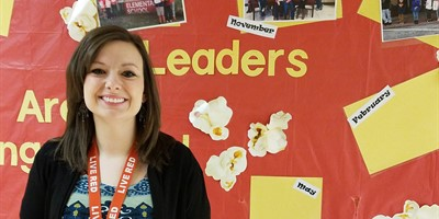 Congratulations to the LCMS March Staff Leader of the Month:  Mrs.Lindsey Maddux