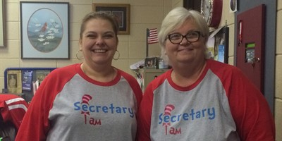We Love our school secretaries at LCHS!