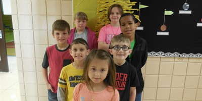 North February Student's of the Month