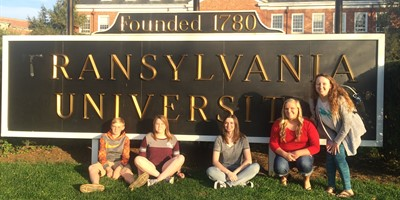 STLP at Transylvania University with Alumni Niki Fox.