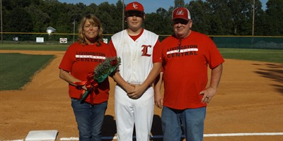 Senior Baseball Player Aaron Neal