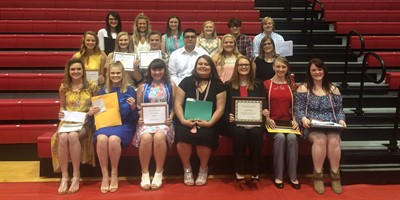 LCHS Senior Night College Scholarships