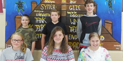 Congratulations to the LCMS May Student Leaders of the Month 6th graders: Bella Chittenden and Zach Lynch 7th graders: Anna Watkins and Joey Hensley 8th graders: Cheyenne Lady and Max Downey