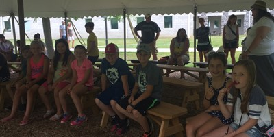 Livingston Co.Students prepare for battle while visiting Gettysburg