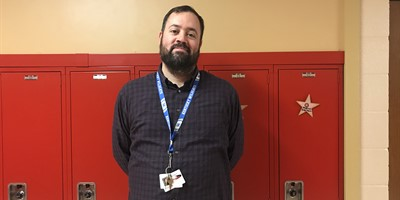 LCMS Staff Member of the Month Justin McGill