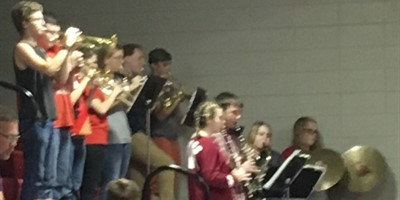 Meet your LCHS Pep Band!