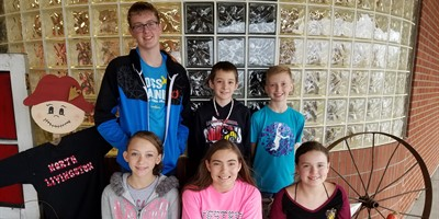 Congratulations to the LCMS October Student Leaders of the Month!