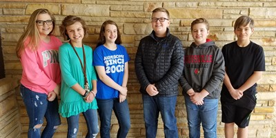 Congrats to the Jan. LCMS Student Leaders of the month