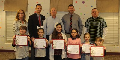 Congratulations to SLES students who were recognized at the Livingston County School Board meeting.