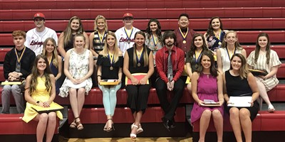 LCHS Senior Night Scholarship Award Winners!