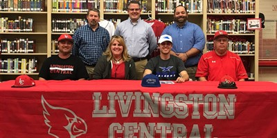 Congrats to senior Talon Cockrel who signed to play baseball at Daytona State College!