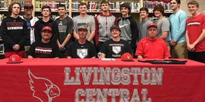 Congrats to Cameron Dean who signed to play baseball with Southeastern Illinois College!